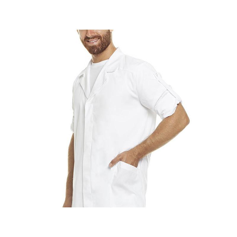Pantalone con elastico bianco