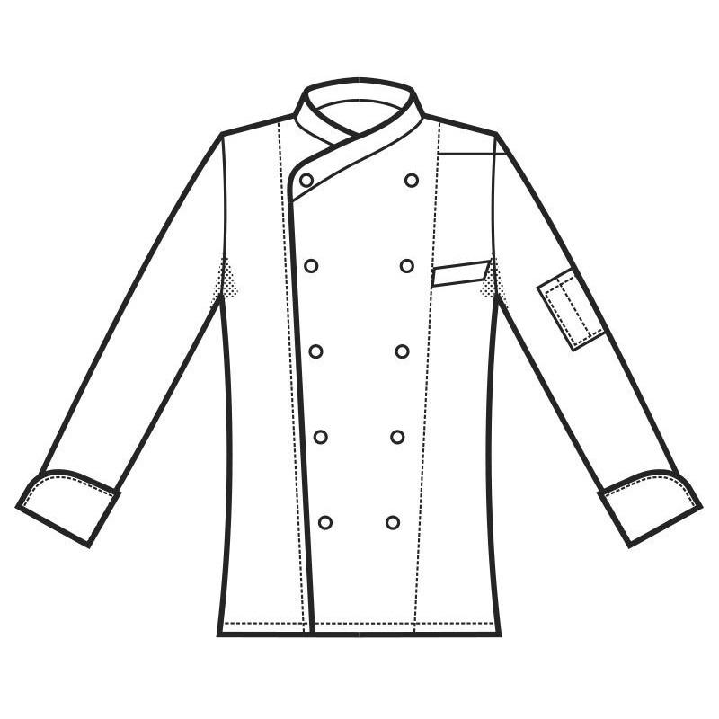 Giacca Chef Lima Isacco